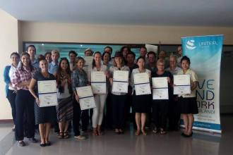 Graduates from our TEFL courses.