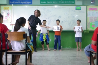 Teacher in our Thai TEFL TAP Program.