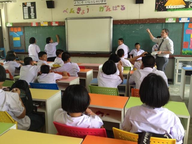 teaching english in thailand salary